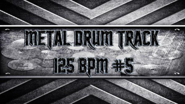 Metal Drum Track 125 BPM #5