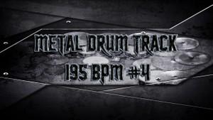 Metal Drum Track 195 BPM #4 - Preset 2.0
