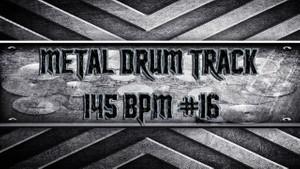 Metal Drum Track 145 BPM #16