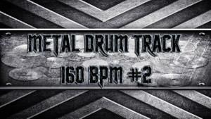 Metal Drum Track 160 BPM #2