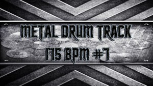 Metal Drum Track 175 BPM #7