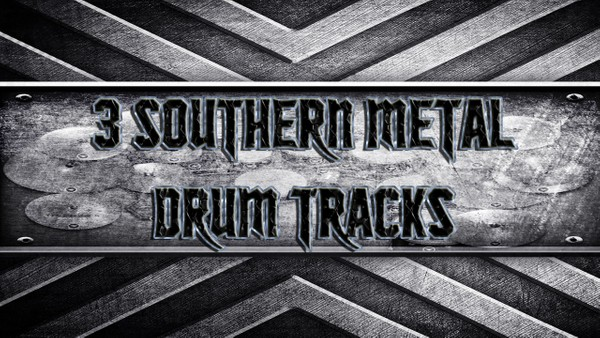 3 Southern Metal Drum Tracks