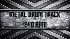 Metal Drum Track 240 BPM