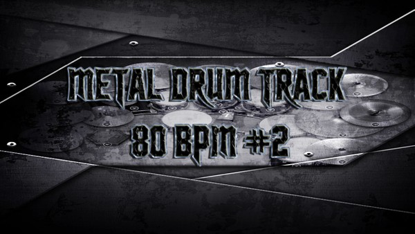 Metal Drum Track 80 BPM #2 - Preset 2.0