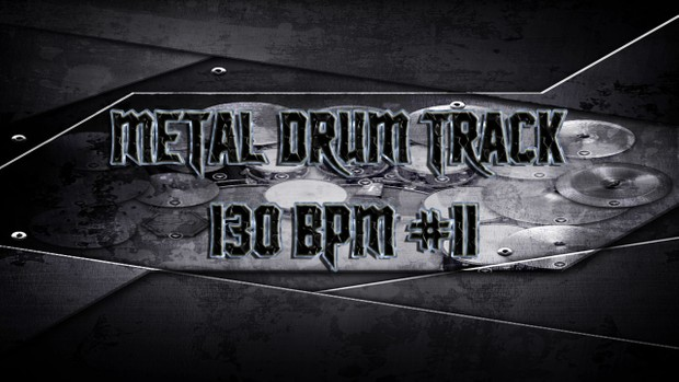 Metal Drum Track 130 BPM #11 - Preset 2.0