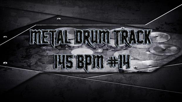 Metal Drum Track 145 BPM #14 - Preset 2.0