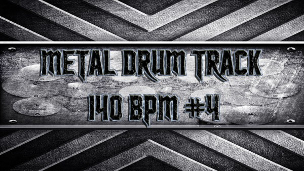 Metal Drum Track 140 BPM #4