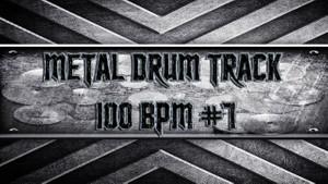 Metal Drum Track 100 BPM #7