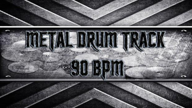 Metal Drum Track 90 BPM