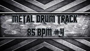 Metal Drum Track 85 BPM #4