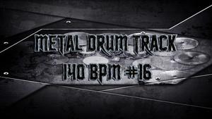 Metal Drum Track 140 BPM #16 - Preset 2.0