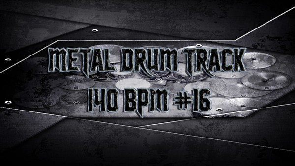 Metal Drum Track 140 BPM #16 - Preset 2.0