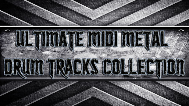 Ultimate Midi Metal Drum Tracks Collection