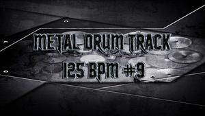 Metal Drum Track 125 BPM #9 - Preset 2.0