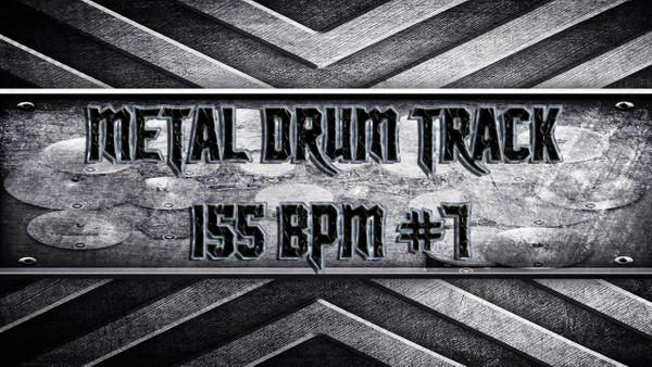 Metal Drum Track 155 BPM #7