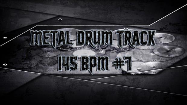 Metal Drum Track 145 BPM #7 - Preset 2.0