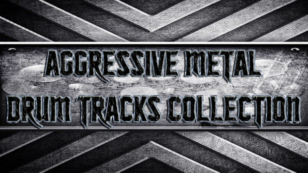 Aggressive Metal Drum Tracks Collection