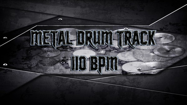 Metal Drum Track 110 BPM - Preset 2.0