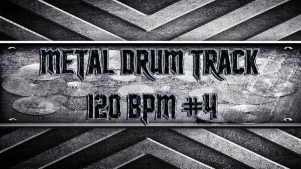 Metal Drum Track 120 BPM #4