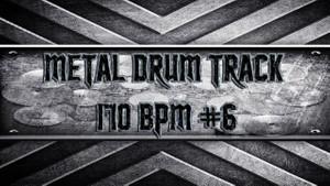 Metal Drum Track 170 BPM #6
