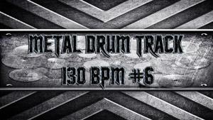 Metal Drum Track 130 BPM #6