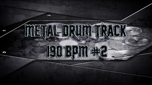 Metal Drum Track 190 BPM #2 - Preset 2.0