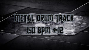 Metal Drum Track 150 BPM #12 - Preset 2.0
