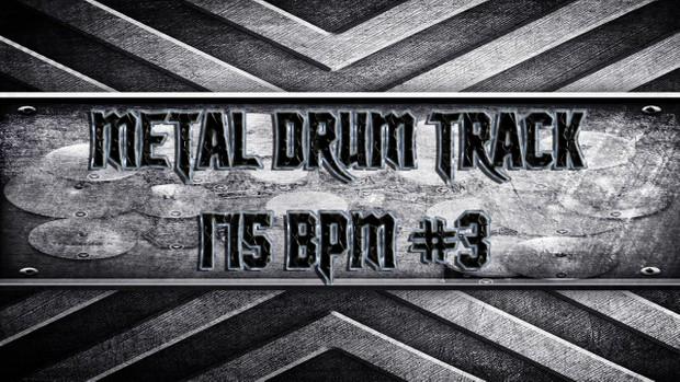 Metal Drum Track 175 BPM #3