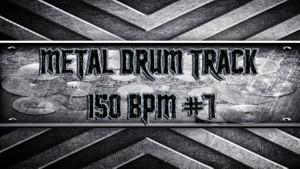 Metal Drum Track 150 BPM #7