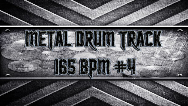 Metal Drum Track 165 BPM #4