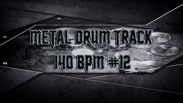Metal Drum Track 140 BPM #12 - Preset 2.0