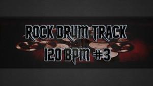 Rock Drum Track 120 BPM #3