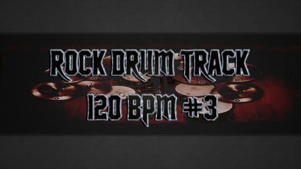 Rock Drum Track 120 BPM #3