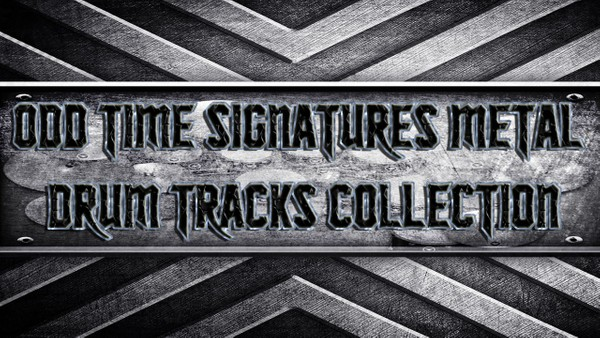 Odd Time Signatures Metal Drum Tracks Collection