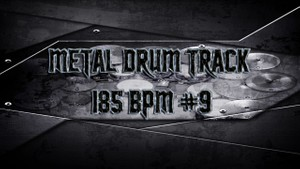 Metal Drum Track 185 BPM #9 - Preset 2.0