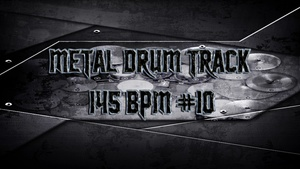 Metal Drum Track 145 BPM #10 - Preset 2.0