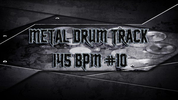 Metal Drum Track 145 BPM #10 - Preset 2.0