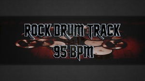 Rock Drum Track 95 BPM