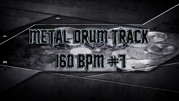 Metal Drum Track 160 BPM #7 - Preset 2.0