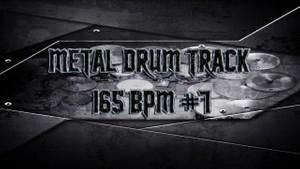 Metal Drum Track 165 BPM #7 - Preset 2.0