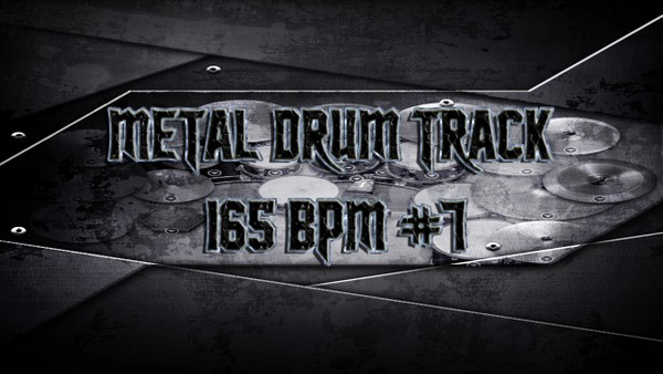 Metal Drum Track 165 BPM #7 - Preset 2.0