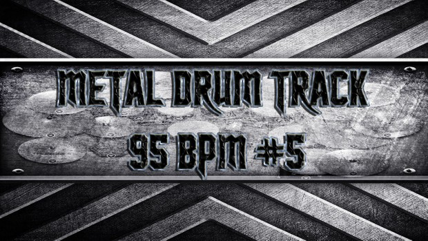 Metal Drum Track 95 BPM #5