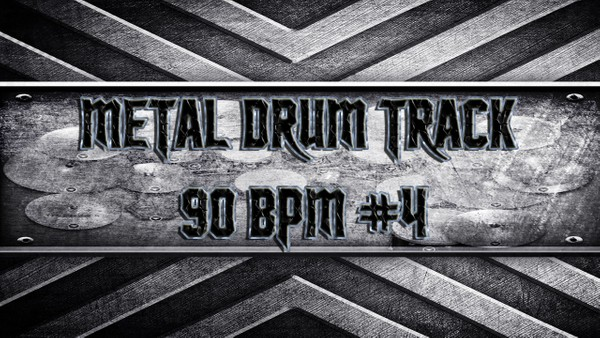 Metal Drum Track 90 BPM #4