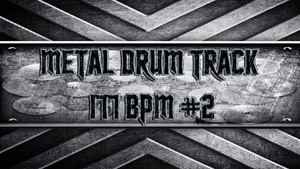 Metal Drum Track 177 BPM #2