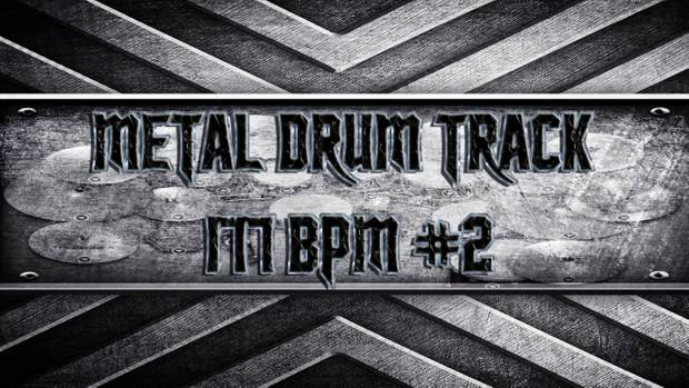 Metal Drum Track 177 BPM #2