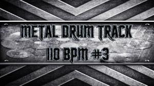 Metal Drum Track 110 BPM #3