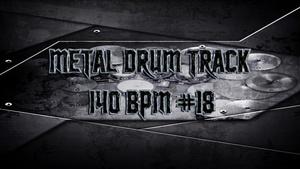 Metal Drum Track 140 BPM #18 - Preset 2.0