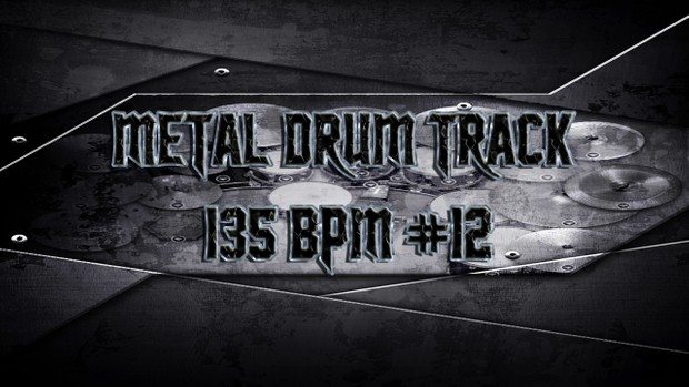 Metal Drum Track 135 BPM #12 - Preset 2.0