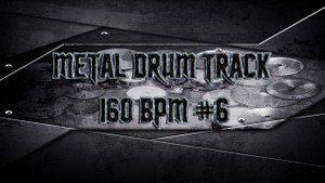 Metal Drum Track 160 BPM #6 - Preset 2.0