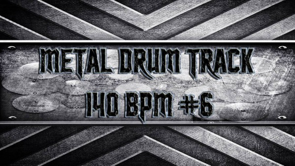 Metal Drum Track 140 BPM #6